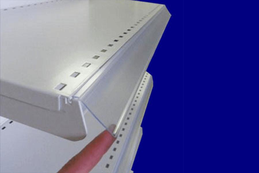 Porte-étiquette plexi basculant