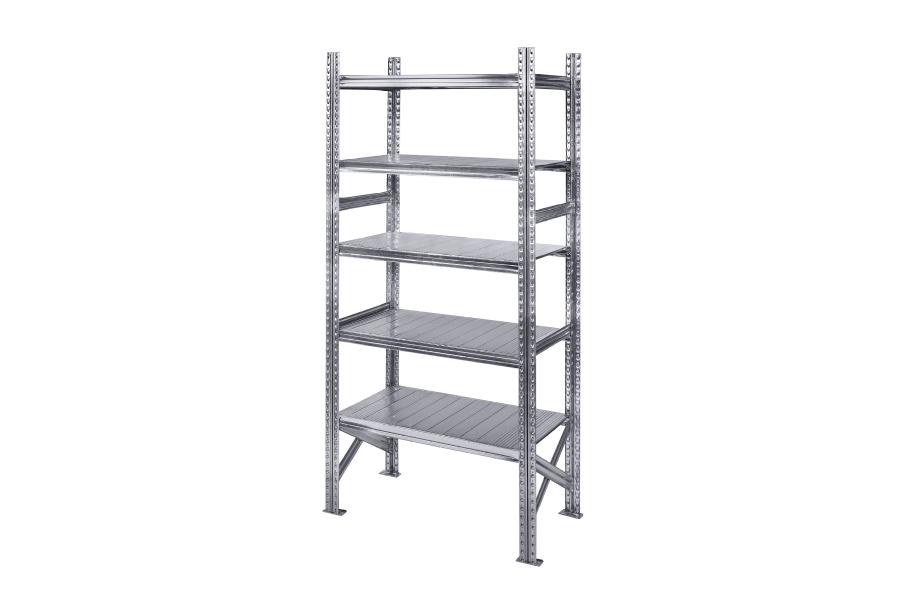Rayonnage pour réserve en aluminium