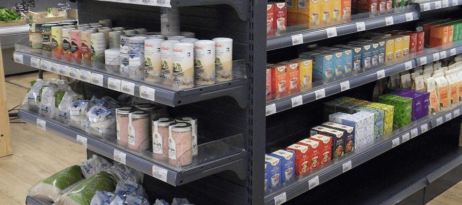 Europ'metal - Gondoles et tête de gondole pour magasins alimentaires